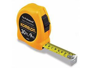 Komelon 4930IM 6 Pack 30ft. The Professional Tape Measure, Yellow