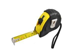 Flexible Retractable Measure Tool English Metric Ruler Tape 25Ft 7.5M w Strap