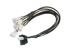 SATA Power Adapter to 5 X PWM Fan Cable