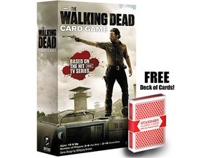 Walking Dead Card Game w/ Free Deck of Playing Cards