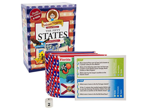 Educational US History Card Game - Professor Noggins 50 States - Special Edition