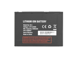 Sierra Wireless W-5 W5 Replacement Battery - BELTRON BLT-SW5