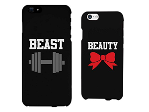 Beauty and Beast Matching Couple Phone Cases for iphone 4, iphone 5, iphone 5C, iphone 6, iphone 6 plus, Galaxy S3, Galaxy S4, Galaxy S5, HTC M8, LG G3
