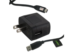 Motorola Home Travel Charger with Detachable USB Cable for Motorola ATRIX 4G, Bravo, Motorola Brute i680, Brute i686, Motorola i886 and Motorola ES400