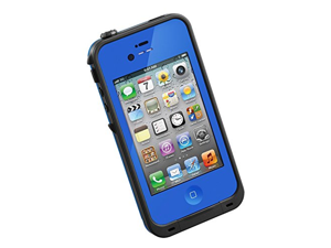 New Waterproof Shockproof Dirtproof Snowproof Protection Case Cover for Apple Iphone 4 4S (Dark Blue)