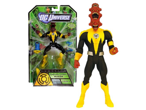 Mattel Year 2010 DC Universe Green Lantern Wave 1 Classics Series 7 Inch Tall Action Figure #5 - Sinestro Corps: MAASH with LOWs Interchangeable Head and Hands Plus ARKILLOs Left Leg (T7853)
