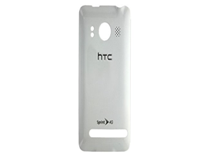 WHITE ORIGINAL OEM BATTERY DOOR COVER BACK FOR THE HTC EVO 4G FOR SPRINT