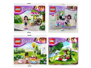 30102 30106 30107 30108 non-release in Japan LEGO Friends] [set of 4 Olivia / Emma / Andrea / Mia LEGO FRIENDS [parallel import goods] (japan import)