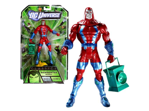 Mattel Year 2010 DC Universe Green Lantern Wave 1 Classics Series 6-1/2 Inch Tall Action Figure #6 - MANHUNTER ROBOT with Green Lantern Plus ARKILLOs Upper Torso (T7852)