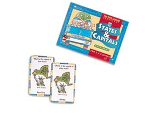Learning Resources - Fast Track Learning US States and Capitals Card Game