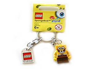 Lego SpongeBob Sponge Bob Square Pants (new version) Key Chain 853 297 (japan import)