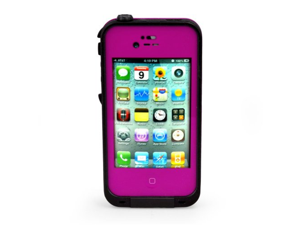 Thinking New Redpepper Waterproof Shockproof Dirtproof Snowproof Protection Case Cover for Apple Iphone 4 4s (Rose Red)