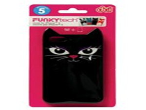 Funky Tech Animal iPhone 5 Cover - Cat