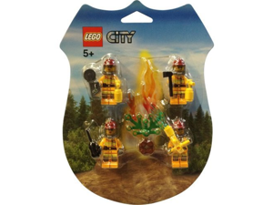 LEGO City Mini Figure Set #853378 Fire Fighters Rescue Pack