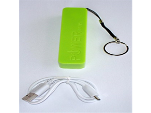 Power Bank Charger for IPhone, IPod, IPad, Android, Camera, Mp3 Players, Etc. (Lime Green)