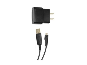 Samsung Home Travel Charger + USB Data Cable for Epic 4G Touch D710, Galaxy S 2, Infuse 4G, Mythic A897, Strive A687