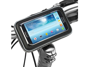 Bike Mount Holder - iKross Universal Smartphone Bicycle WaterProof Pouch Holster Case - Black
