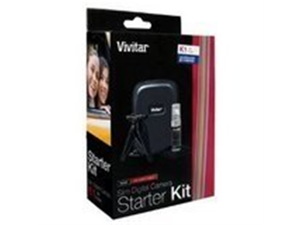 Vivitar Viv-Sk-100 Starter Kit for Slim Digital Camera