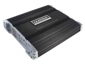 Matrix DX1000.2 1000 Watt 2-Channel Amp MOSFET Car Stereo Amplifier +Remote Bass