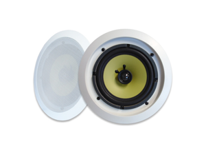 """MA Audio Synergy Series 65iC In-Wall In Ceiling 6.5"""" Speaker Pair 300W Home Theater"""