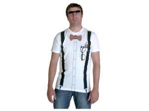 Classic White Nerd T-Shirt