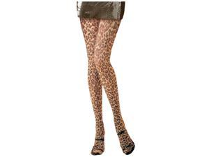 Leopard Print Tights