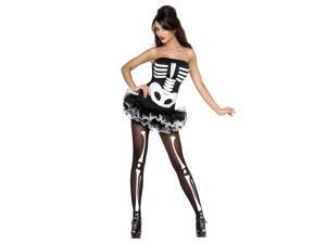 Fever Skeleton Costume Smiffys 31969