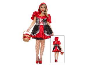 Plus Womens Fiery Lil Red	Costume