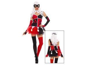 Sexy Harley Jester Costume- Womens