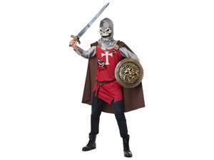 Renaissance Skull Knight Mens Halloween Costume