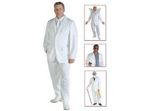 Mens White Suit Costume