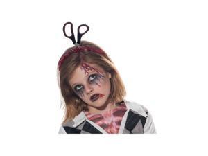Headband w/ Scissors and Blood