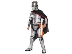 Child Deluxe Star Wars Force Awakens Captain Phasma Costume