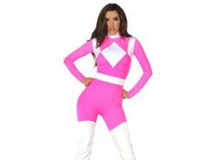 Women's Supreme Pink Ranger Costume