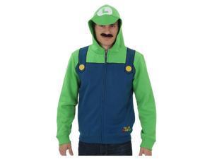 Mens Super Mario Luigi Hoodie