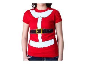 Womens Mrs Claus Costume T-Shirt