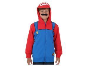 Boys Super Mario Costume Hoodie