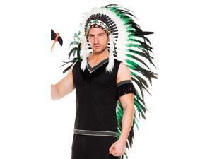 Long Feather Indian Headdress