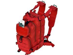 Every Day Carry B3-Red Tactical Assault Molle Backpack for Women - Red