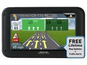 "Magellan Roadmate 5375T-LMB GPS System 5"" Touchscreen with Bluetooth & Free Maps"