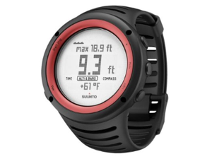 Suunto SS016788000 Core All Outdoor Watch - Altimeter, Barometer, Chronograph, Depth Meter (Lava Red)