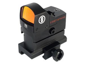 Bushnell Optics First Strike Reflex Red Dot Sight with Riser Block - AR730005