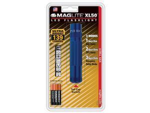 Maglite XL 50 LED 104 Lumens High Power Flashlight - BLUE- XL50 S3116