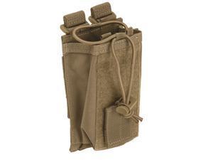 5.11 Tactical VTAC Adjustable Slick Stick Molle Vest Radio Pouch 58718 Sandstone