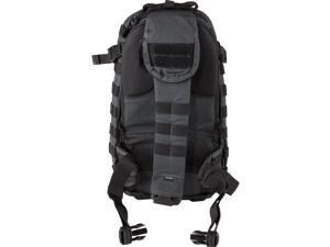 """5.11 Tactical RUSH MOAB 10 Backpack, 18.25""""x9""""x5.25"""", Double Tap Black 56964"""