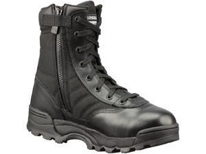 """Original Swat Women's Classic 9"""" Tactical Boots Side Zip 1152 10 Black"""