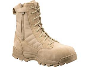 """Original Swat Chase 9"""" Tactical  Safety Toe Boots Side Zipper TAN 1194 14.0/EU48"""