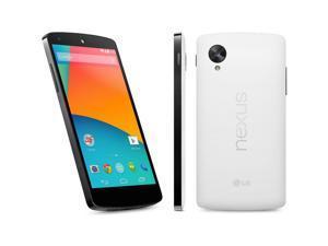 Google Nexus 5 WHITE 16GB Factory UNLOCKED GSM Android 4.4 Smartphone LG-D820