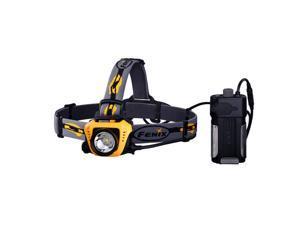 Fenix HP30 900 Lumens CREE LED Water Resistant USB Charging Headlamp - Yellow