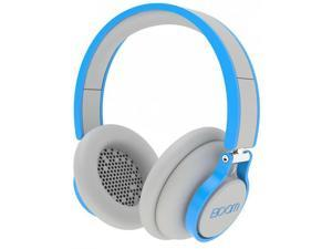 Boom ROGUE Premium Over-Ear Headphones w/ 3 Button Mic & 6ft Cord - Grey